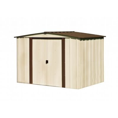 Arrow Newburgh 8 ft. x 6 ft. Steel Storage Shed NW86-A