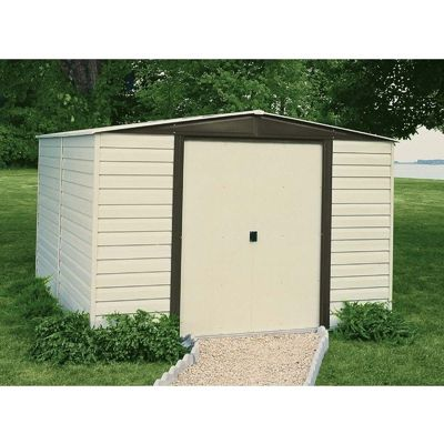 Arrow Vinyl Dallas 10 x 12 Standard Shed VD1012