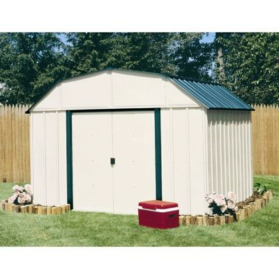 Arrow Vinyl Sheridan 10 x 14 Storage Shed VS1014