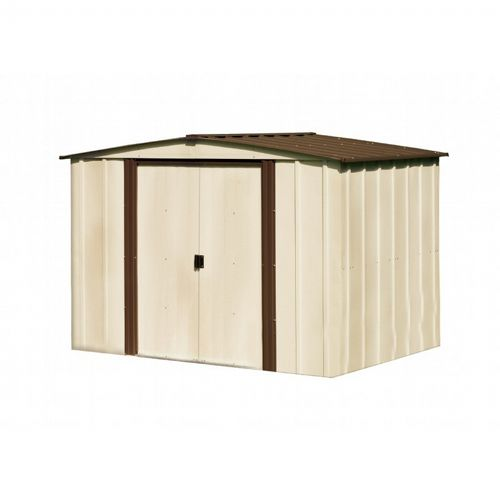Arrow Newburgh 8 ft. × 6 ft. Steel Storage Shed NW86-A