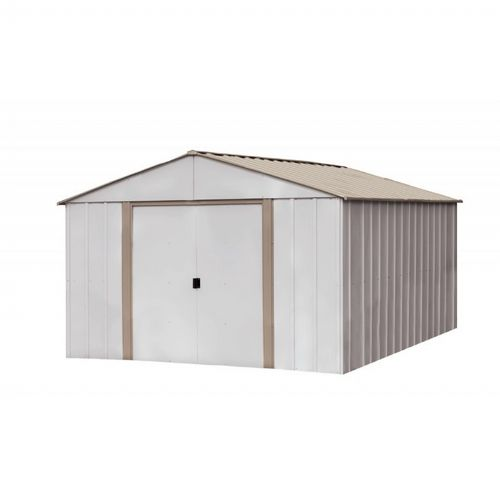 Arrow Oakbrook 10 ft. × 14 ft. Steel Storage Shed OB1014-C1