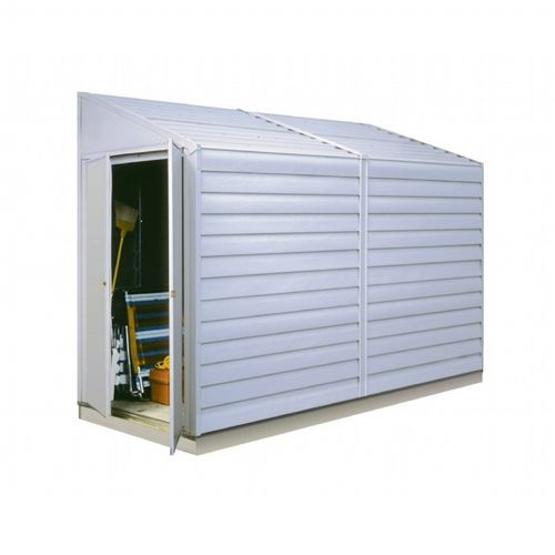 Arrow Yardsaver 4 ft. × 10 ft. Steel Storage Shed YS410-A