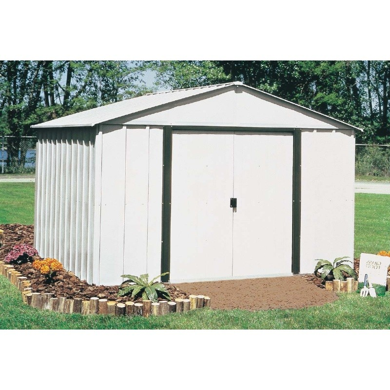 Home & Garden: Outdoor Sheds: Arrow Arlington 10 × 8 Standard Storage Shed
