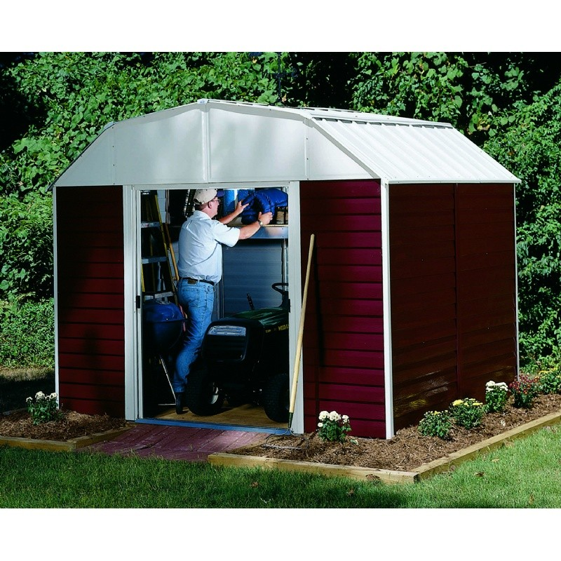 Arrow Red Barn 10 × 14 Storage Shed