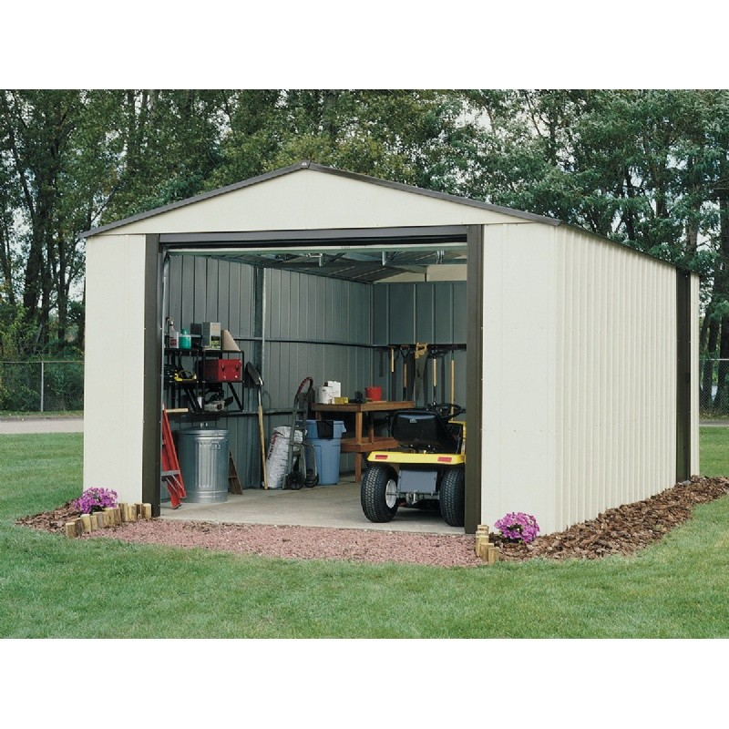 Outdoor Sheds: Arrow Vinyl Murryhill 12 × 24 Storage Shed
