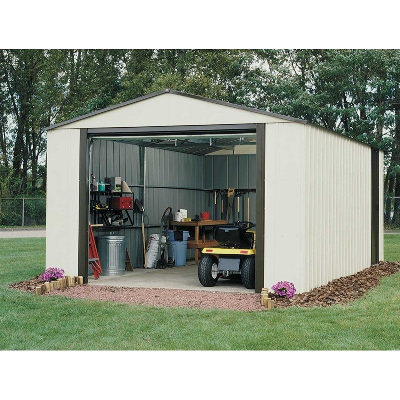 Outdoor Sheds: Arrow Vinyl Murryhill 12 × 31 Storage Shed