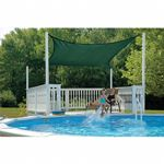 Square Shade Sail - Evergreen 230 gsm 16 ft. 25727