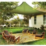 Square Shade Sail - Lime Green 230 gsm 12 ft.