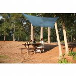 Square Shade Sail - Sea Blue 230 gsm 12 ft.
