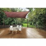 Square Shade Sail - Terracotta 230 gsm 12 ft. 25672