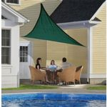 Triangle Shade Sail - Evergreen 230 gsm 12 ft. 25724