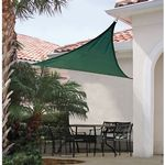 Triangle Shade Sail - Evergreen 230 gsm 16 ft. 25725