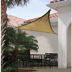 Triangle Shade Sail - Sand 160 gsm 12 ft. 25728