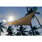 Triangle Shade Sail - Sand 230 gsm 12 ft. 25720