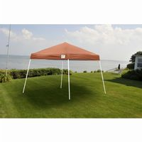10 × 10 SL Pop-up Canopy, Terracotta Cover, Black Roller Bag 22737