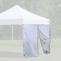 Alumi-Max Pop-up Canopy Solid One Piece Wall Panel 10 Feet with Center Zipper 15701