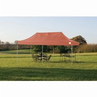 Pop-Up Canopy HD - Straight Leg 10 × 20 ft. Terracotta Cover 22740