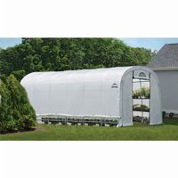Round Style Greenhouse with Side Vents 12 × 24 × 8 70593