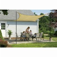 Square Shade Sail - Sand 160 gsm 12 ft. 25731