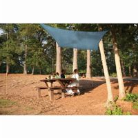 Square Shade Sail - Sea Blue 230 gsm 12 ft. 25735