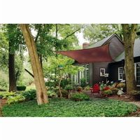 Square Shade Sail - Terracotta 230 gsm 16 ft. 25673