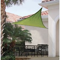 Triangle Shade Sail - Lime Green 230 gsm 16 ft. 25675