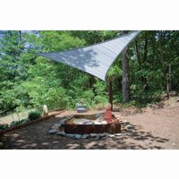 Triangle Shade Sail - Sea Blue 230 gsm 16 ft. 25734