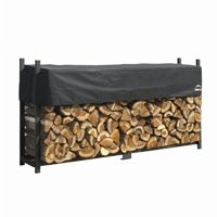 Ultra Duty Firewood Rack w/Cover 8 ft. 90475