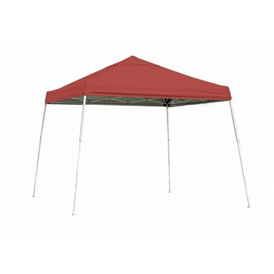 10x10 SL Pop-up Canopy, Red Cover, Black Roller Bag 22556