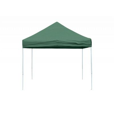 10 x 10 ST Pop-up Canopy, Green Cover, Black Roller Bag 22563