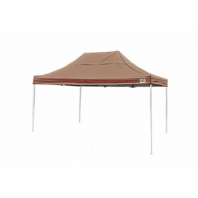 10x15 ST Pop-up Canopy, Desert Bronze Cover, Black Roller Bag 22554