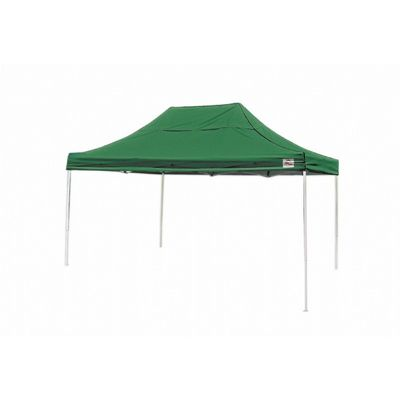10x15 ST Pop-up Canopy, Green Cover, Black Roller Bag 22552