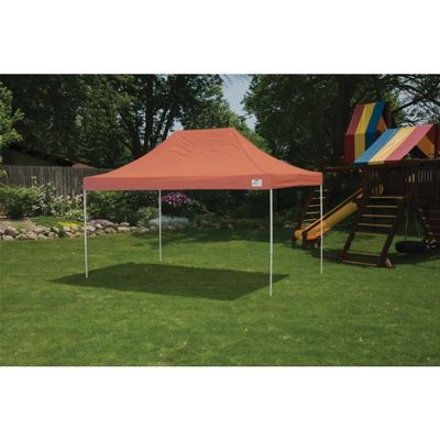 10 x 15 ST Pop-up Canopy, Terracotta Cover, Black Roller Bag 22739
