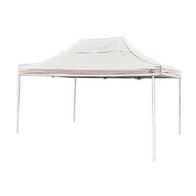 10 x 15 ST Pop-up Canopy, White Cover, Black Roller Bag 22599