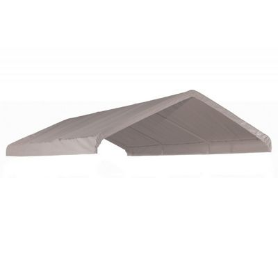 "10 x 20 ft. White Canopy Replacement Cover, Fits 1-3/8"" Frame 10072"