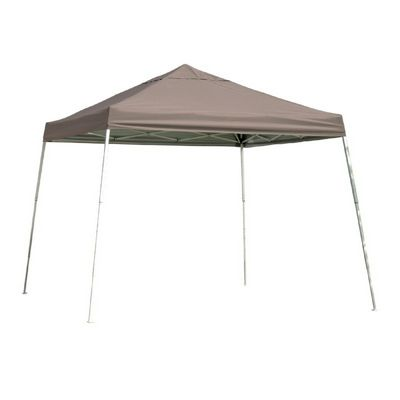 12x12 SL Pop-up Canopy, Desert Bronze Cover, Black Roller Bag 22548