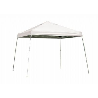 12x12 SL Pop-up Canopy, White Cover, Black Roller Bag 22544