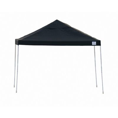 12x12 ST Pop-up Canopy, Black Cover, Black Roller Bag 22541