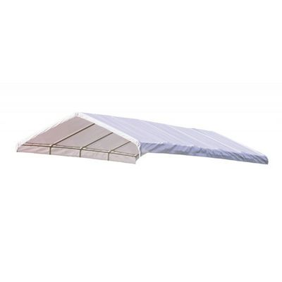 "12 x 30 ft. White Canopy Replacement Cover, Fits 2"" Frame 10149"