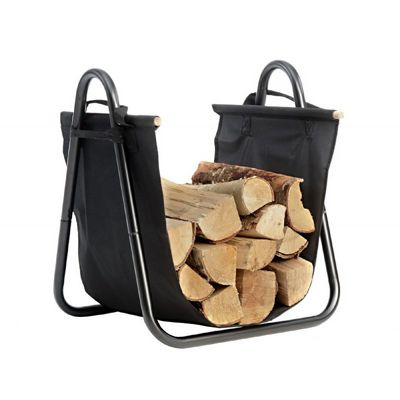 Log Holder with Canvas Carrier 90391