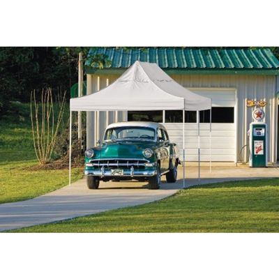 Pop-Up Canopy HD - Straight Leg 10 x 20 ft. White Cover 22534