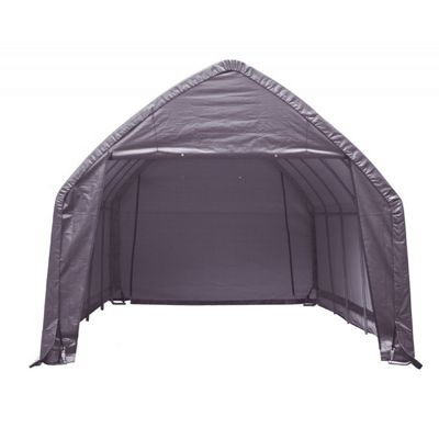"SUV/Truck Shelter, 1-5/8"" 6-Rib Frame, Gray Cover 13 x 20 x 12 62693"