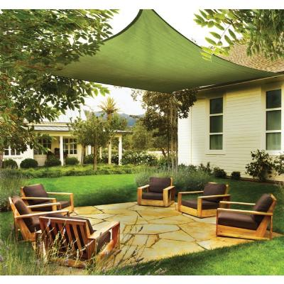 Square Shade Sail - Lime Green 230 gsm 12 ft. 25676