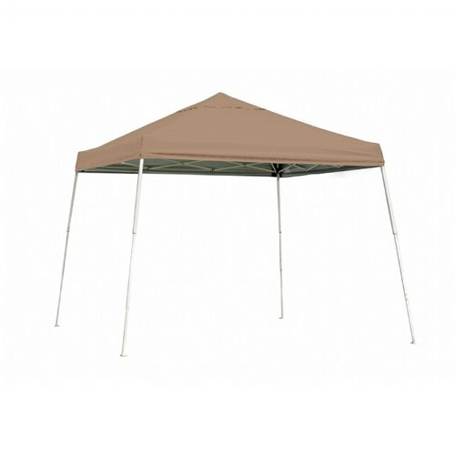10 × 10 SL Pop-up Canopy, Desert Bronze Cover, Black Roller Bag 22559