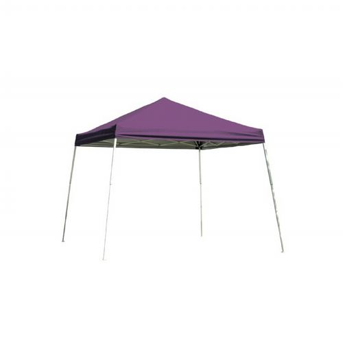 10 × 10 SL Pop-up Canopy, Purple Cover, Black Roller Bag 22702