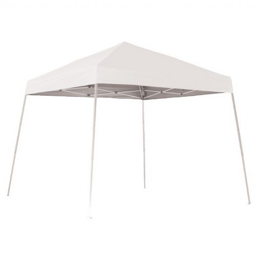 10x10 SL Pop-up Canopy, White Cover, Black Roller Bag 22558