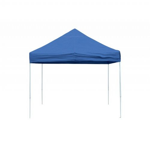 10x10 ST Pop-up Canopy, Blue Cover, Black Roller Bag 22562