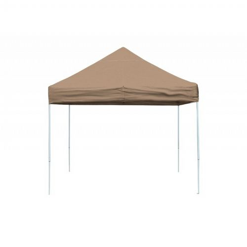 10x10 ST Pop-up Canopy, Desert Bronze Cover, Black Roller Bag 22564