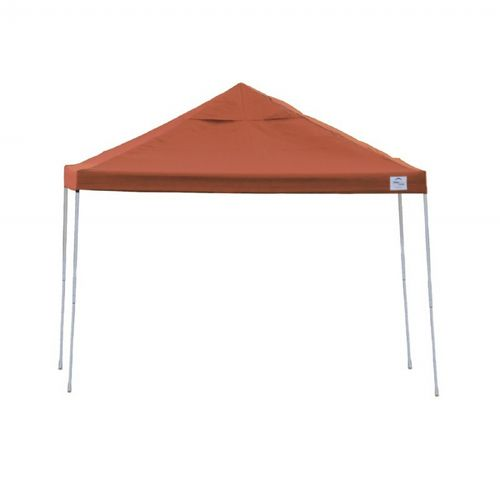 10 × 10 ST Pop-up Canopy, Red Cover, Black Roller Bag 22738