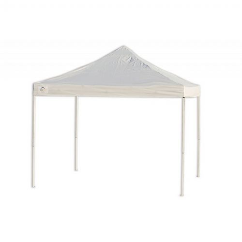 10x10 St Pop Up Canopy Truss Top White Cover Black